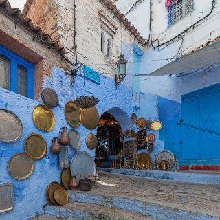 Chefchaouen draped in a sea of blue Morocco