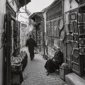 Streets in the Medina Fes Morocco