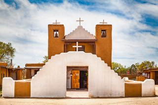 The San Geronimo Church located along Route 66