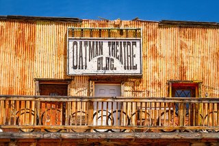 Oatman Arizona is a ghost town on Route 66