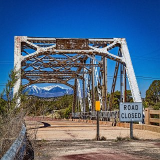 Rio Puerco Bridge, New Mexico on Route 66